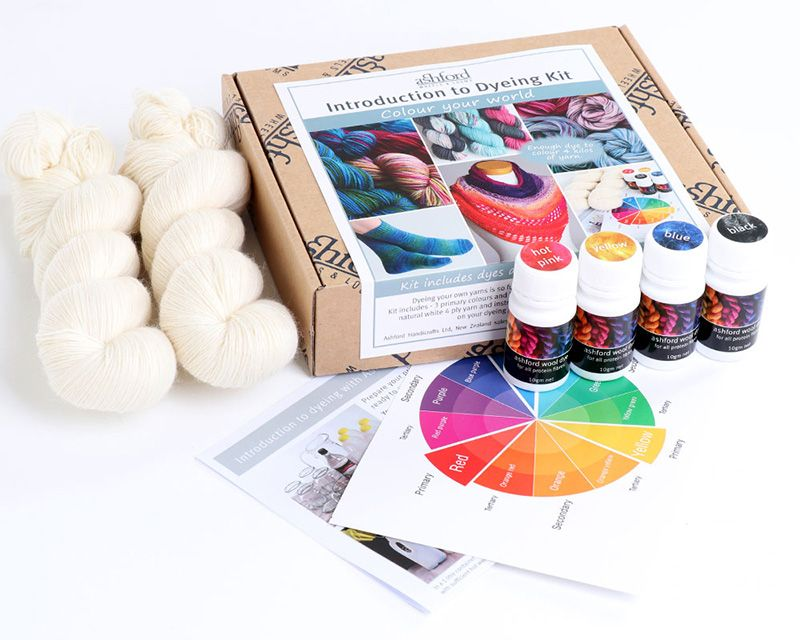 Introduction to Dyeing Kit - acid dyes