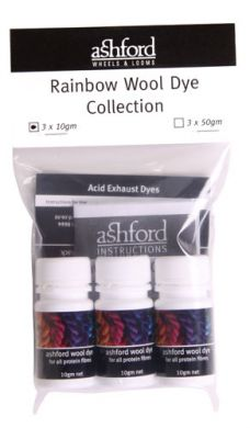 Wool Dye Rainbow Collection - acid dyes