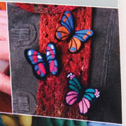 Needle Felting Kit - Butterfly Brooches