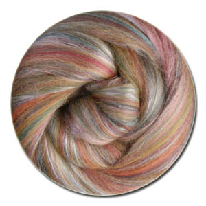 Ashford Silk & Merino Sliver/Roving/Top - Cinnamon