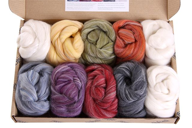 Alpaca-Merino Colour Sample Box