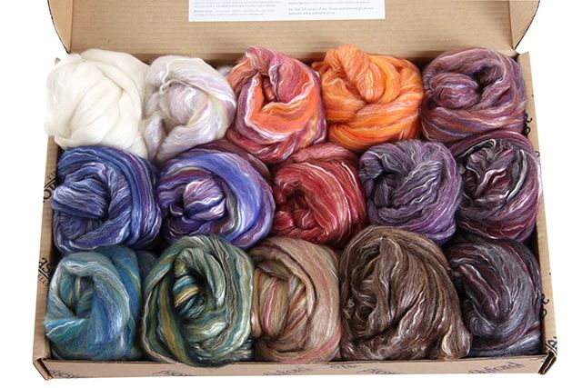 Silk-Merino Colour Sample Box
