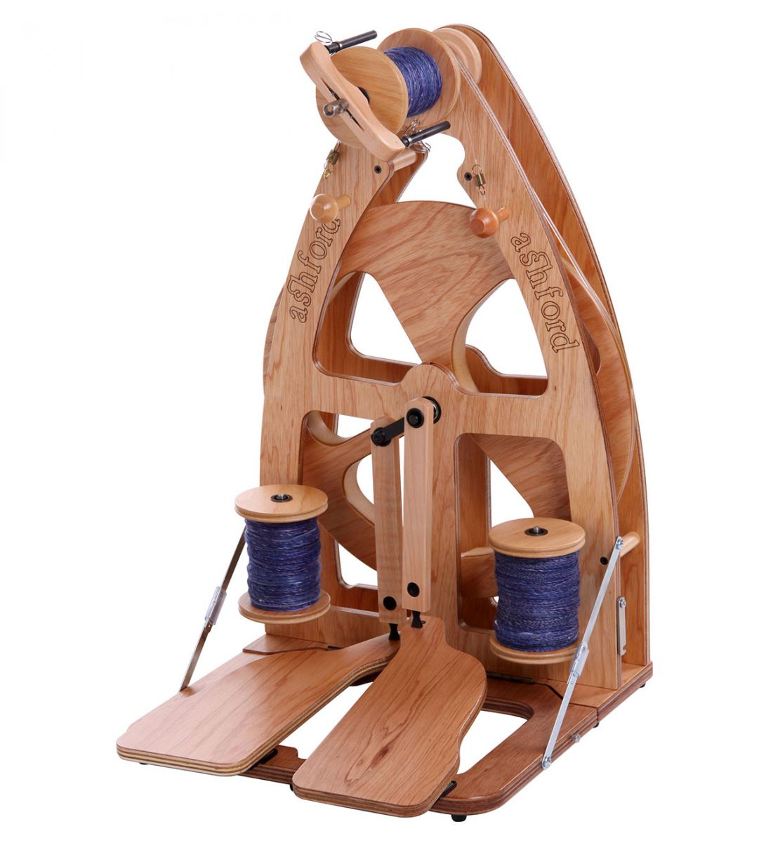 Ashford Joy 2 Spinning Wheel - Double Treadle with Carry Bag