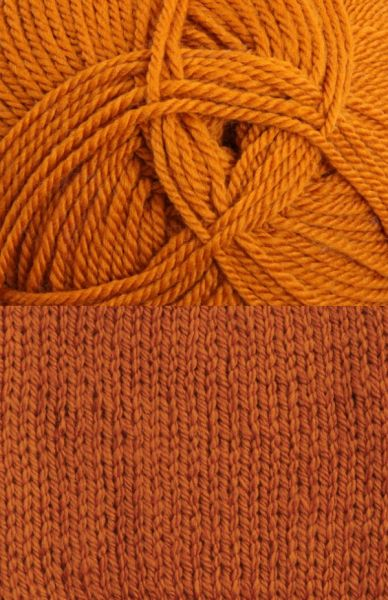Tekapo 8 ply or 12 ply Wool Yarn - Ochre (5 x 100g balls)