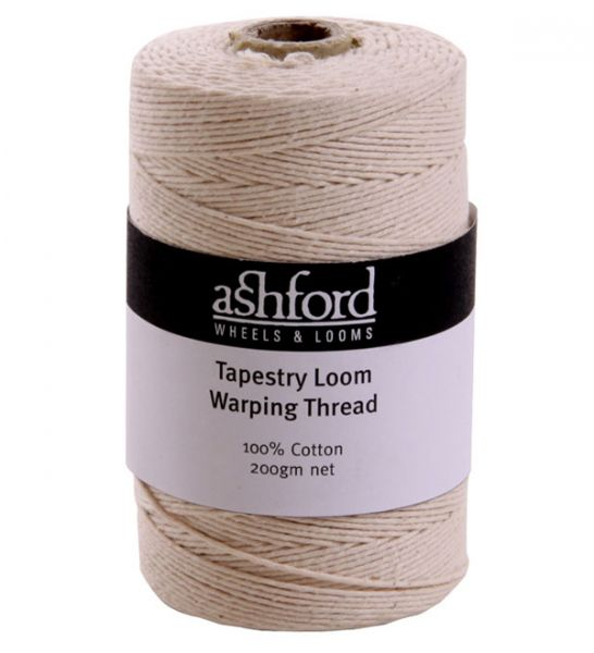 Cotton Tapestry Loom Warping Thread - 200g (550 metres)