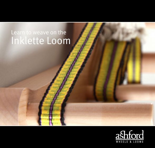 Learn to Weave on the Ashford Inklette Loom - Booklet